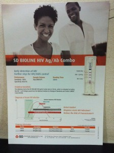 Rapid HIV Combo Test at our clinic | HIV